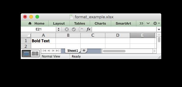 The Format Class — XlsxWriter Documentation